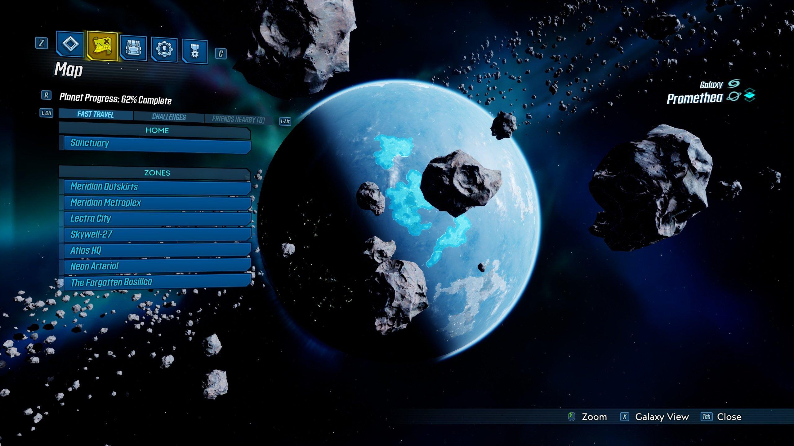Borderlands 3 Promethea side missions