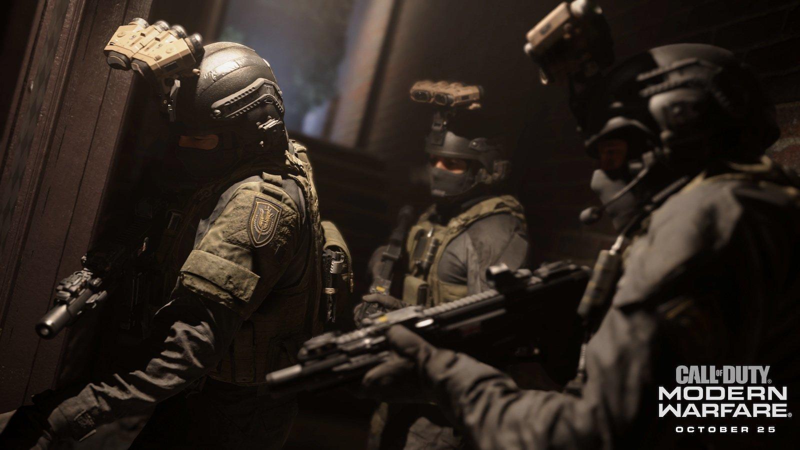 Call of Duty: Modern Warfare screen