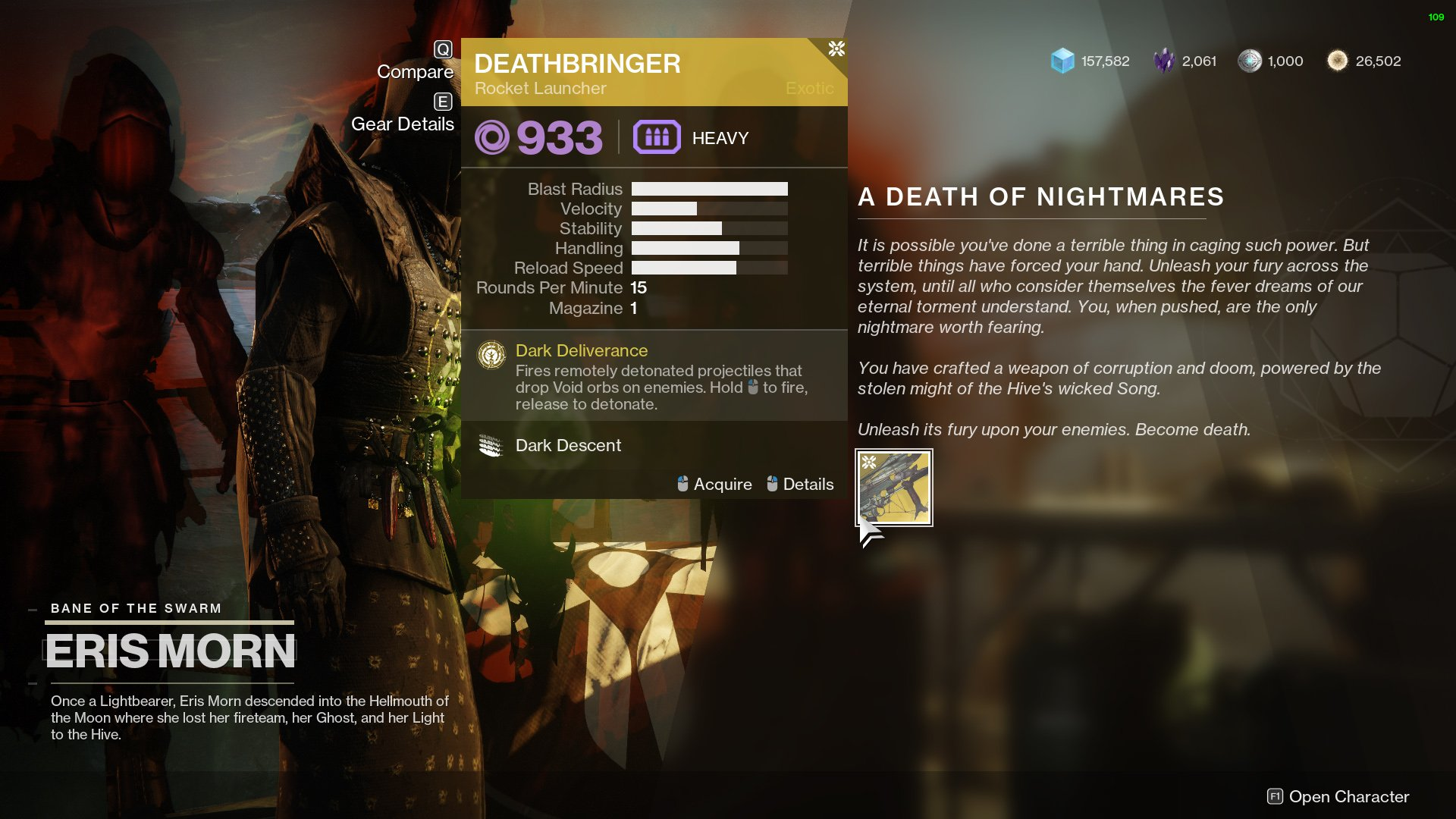 Destiny 2 A Death of Nightmares