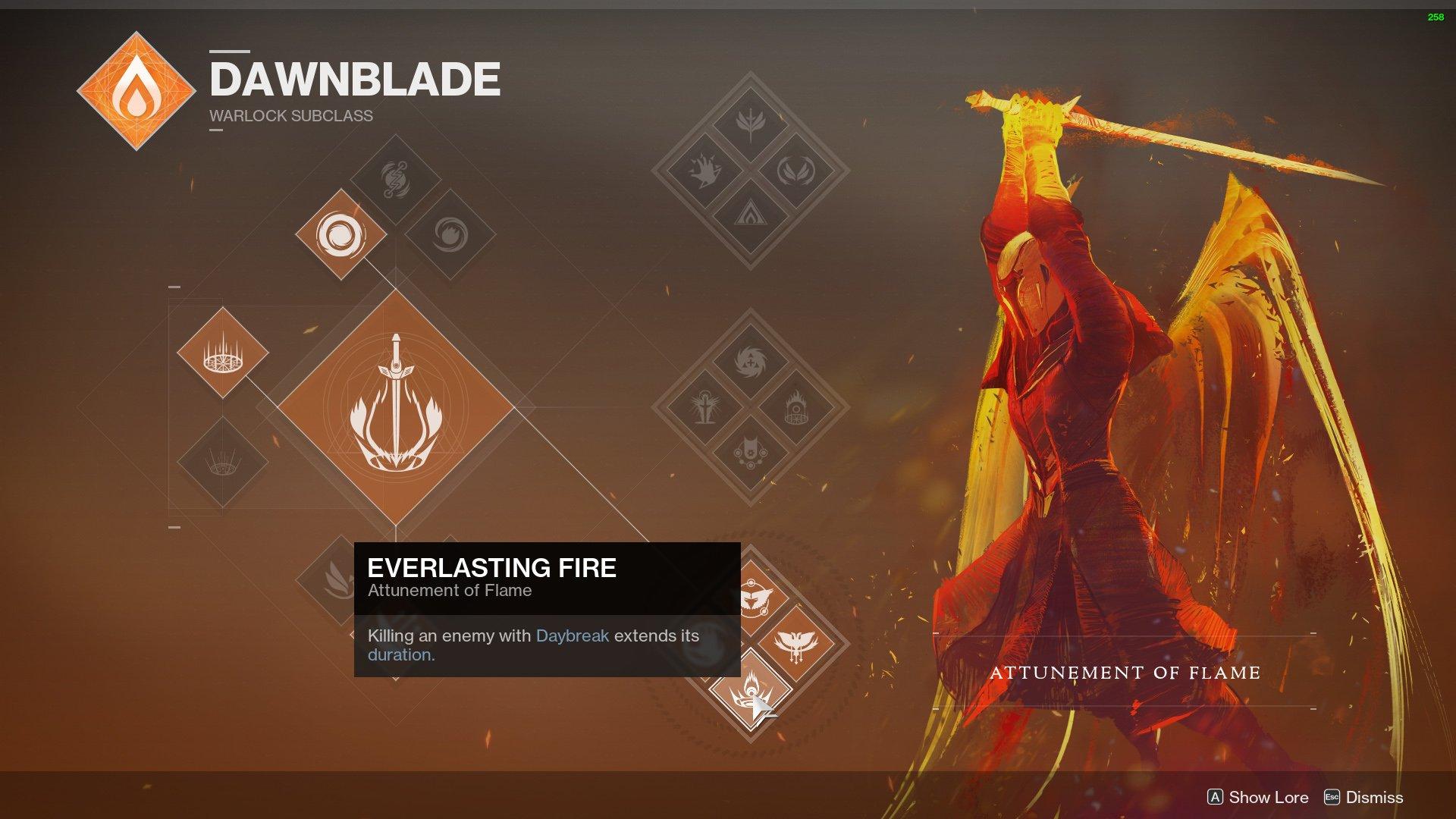 Destiny 2 Dawnblade Warlock nerf