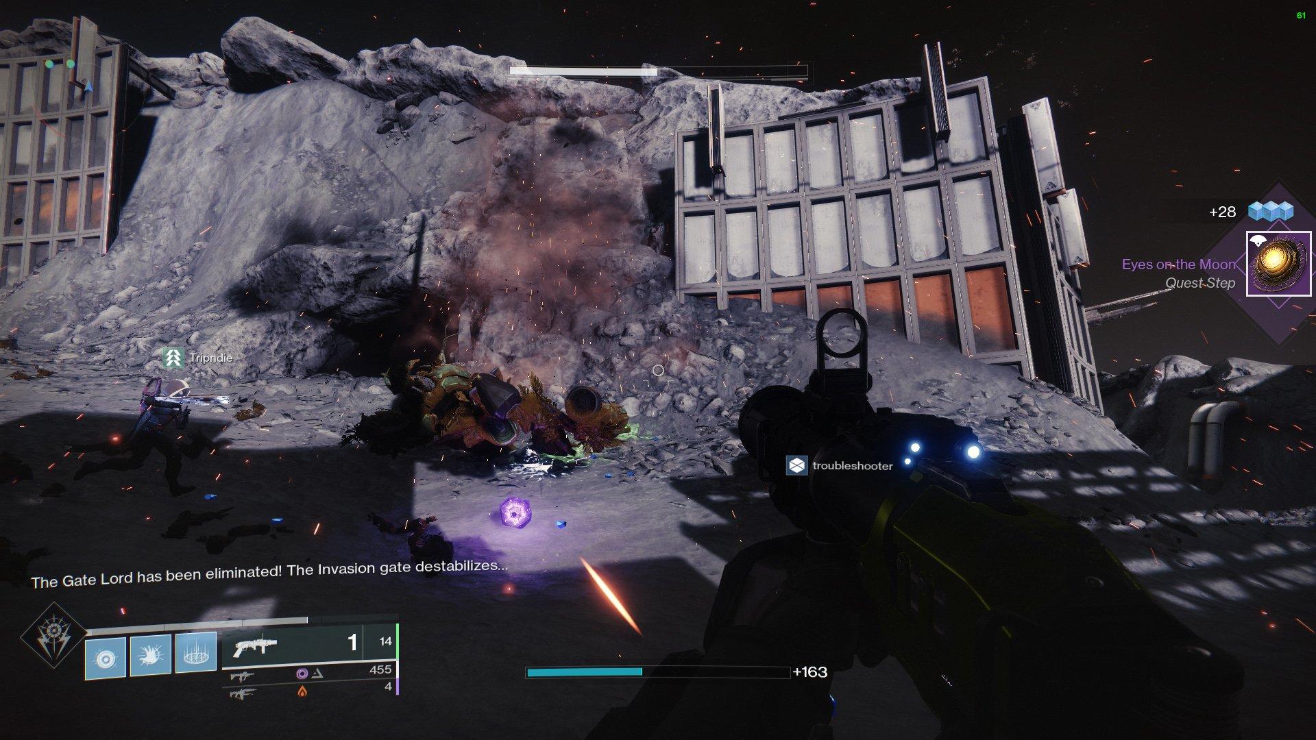 Destiny 2 Eyes on the Moon
