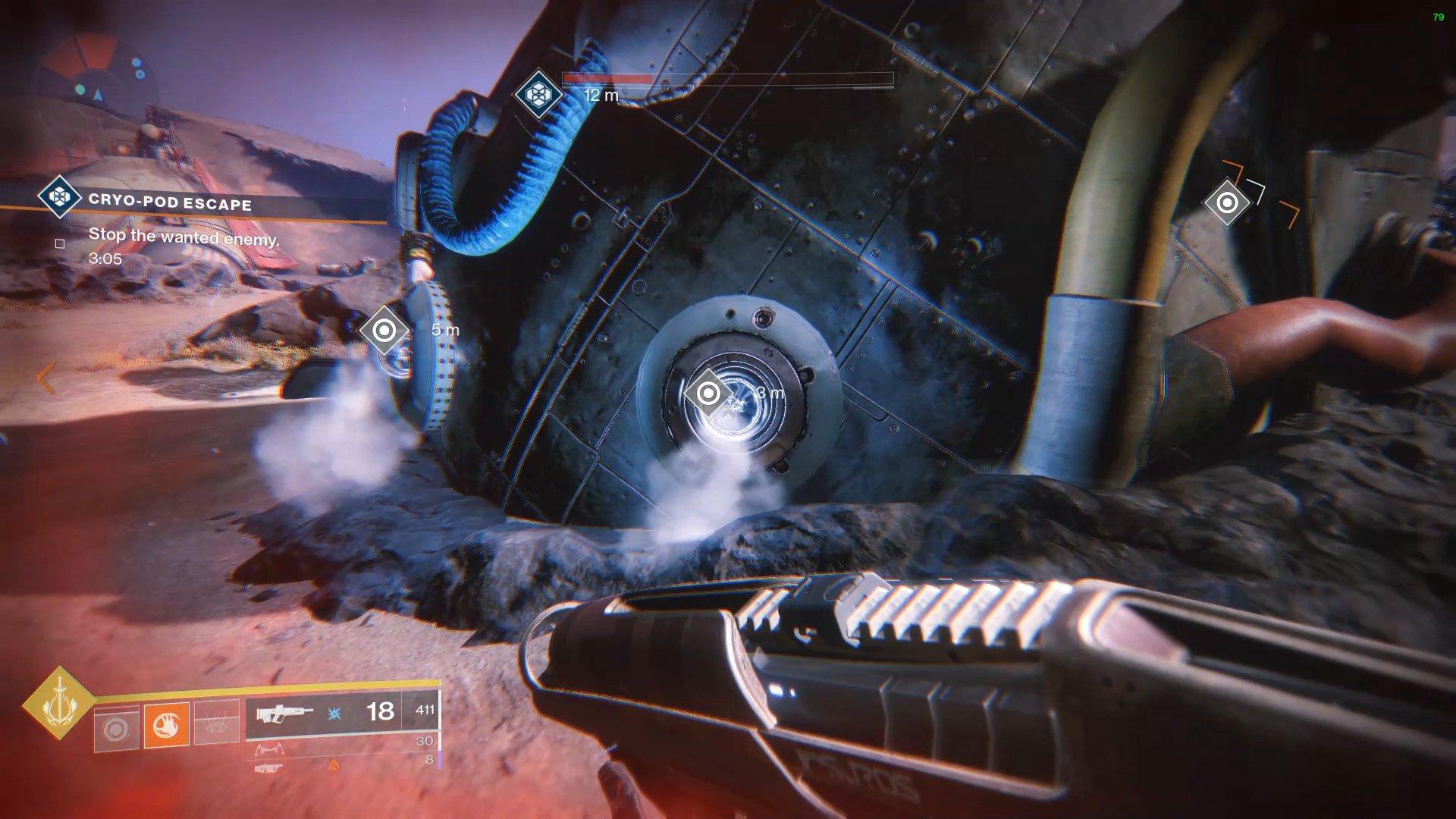 Destiny 2 Cryo-Pod Escape Public Event