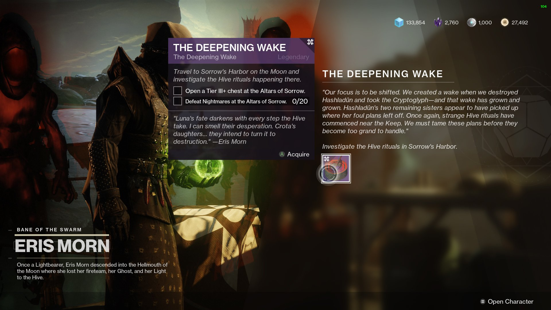 Destiny 2 The Deepening Wake