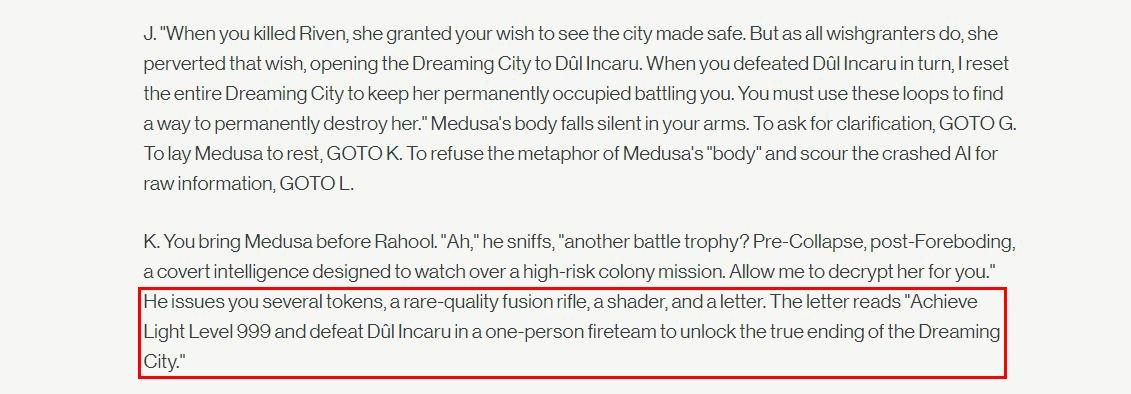 Destiny 2 Power 999 Dul Incaru Dreaming City