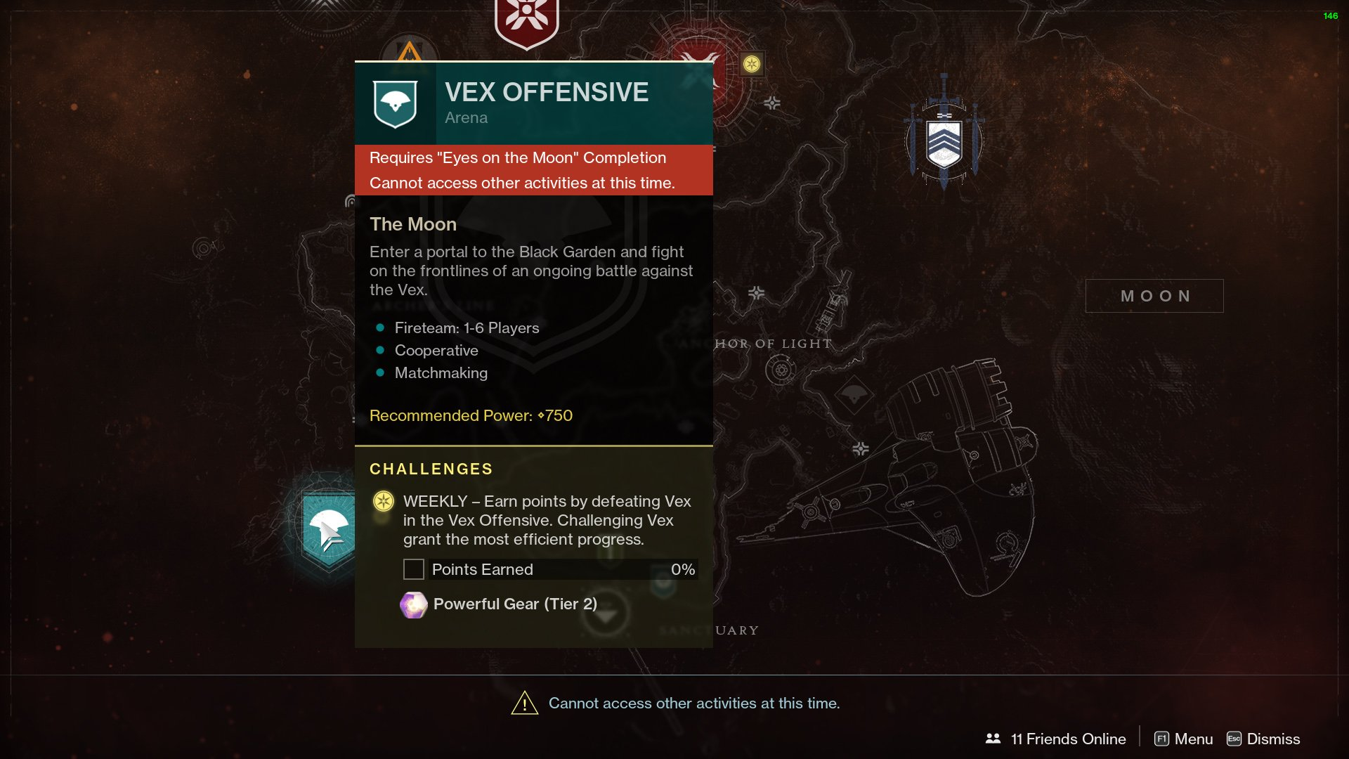 Destiny 2 requires Eyes on the Moon