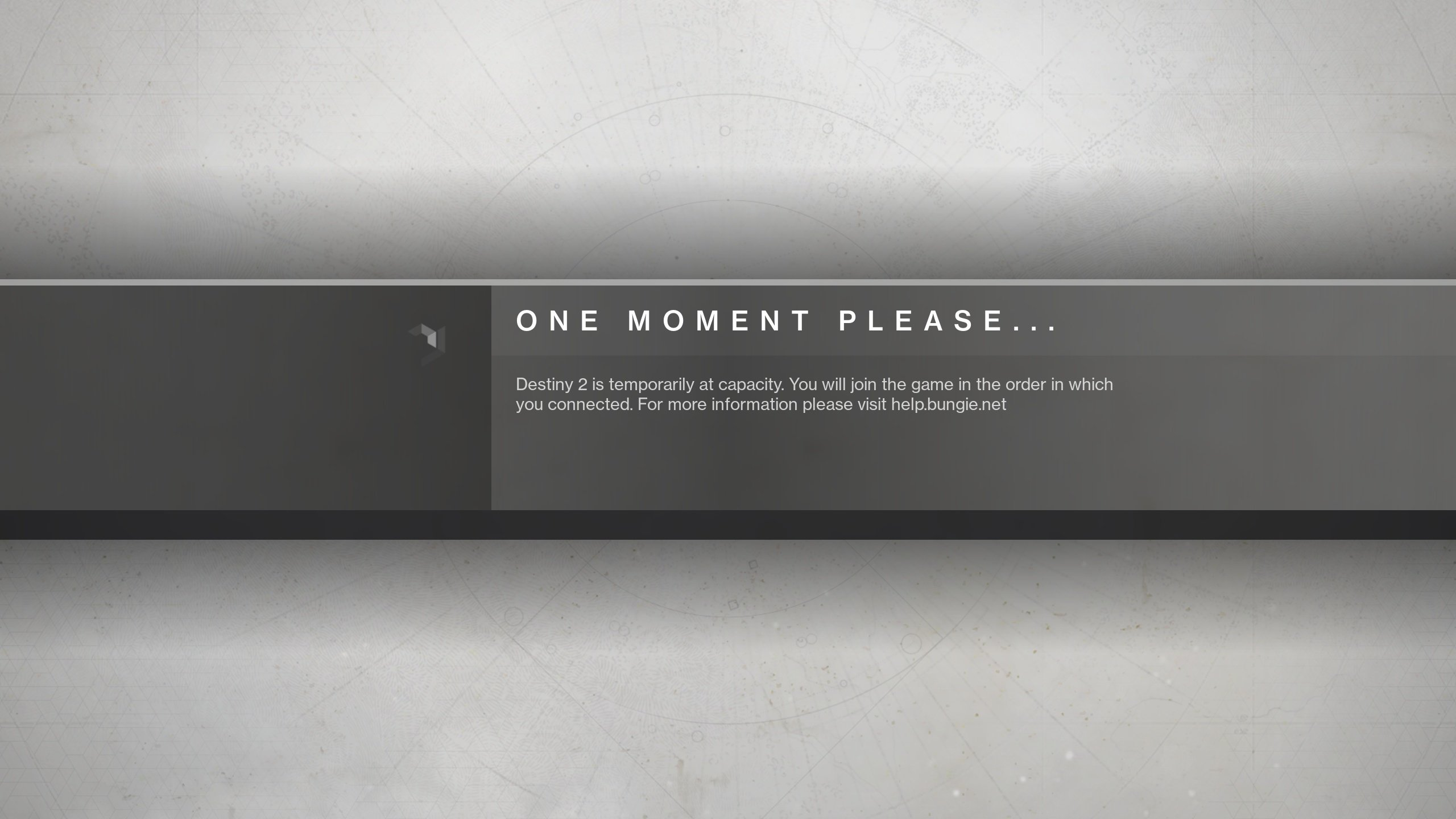 Destiny 2 servers temporarily at capacity
