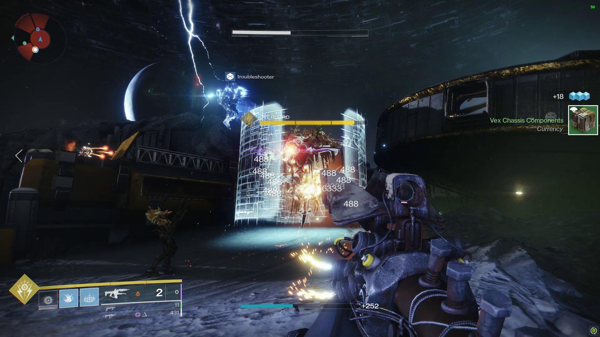 Destiny 2 Vex Invasion Zone Heroic Overlord