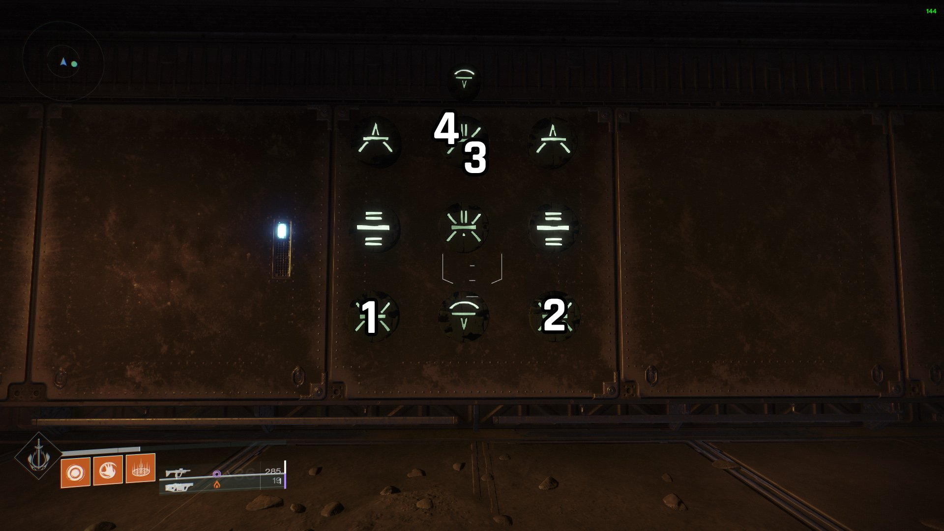 Destiny 2 Lost Sector puzzle K1 Communion