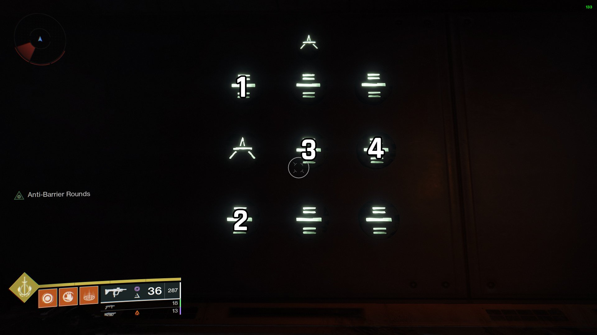 Destiny 2 Lost Sector puzzle K1 Logistics