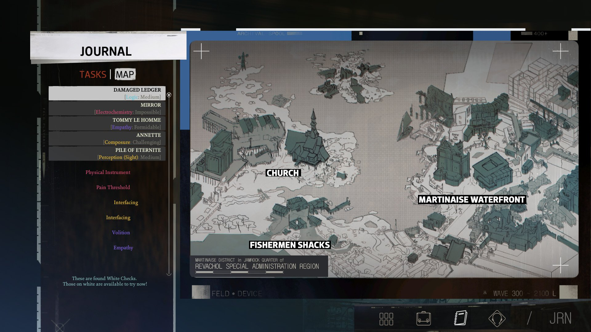 Disco Elysium map