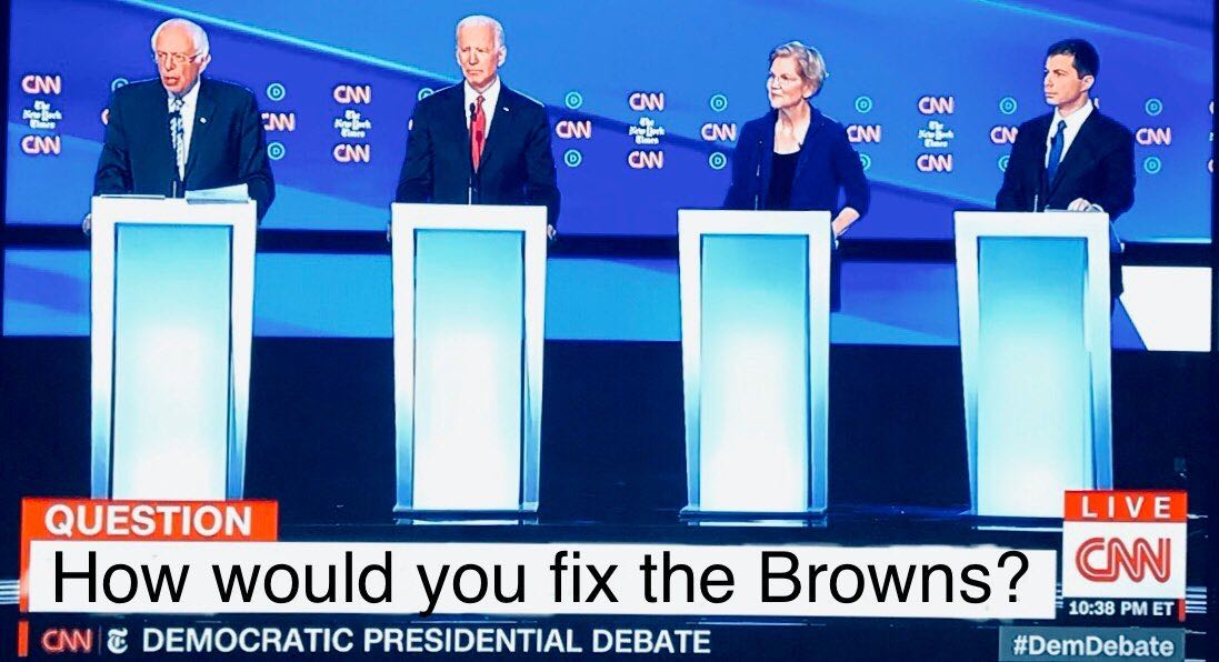 The most important question facing the state of Ohio wasn't even mentioned during the debate last night.