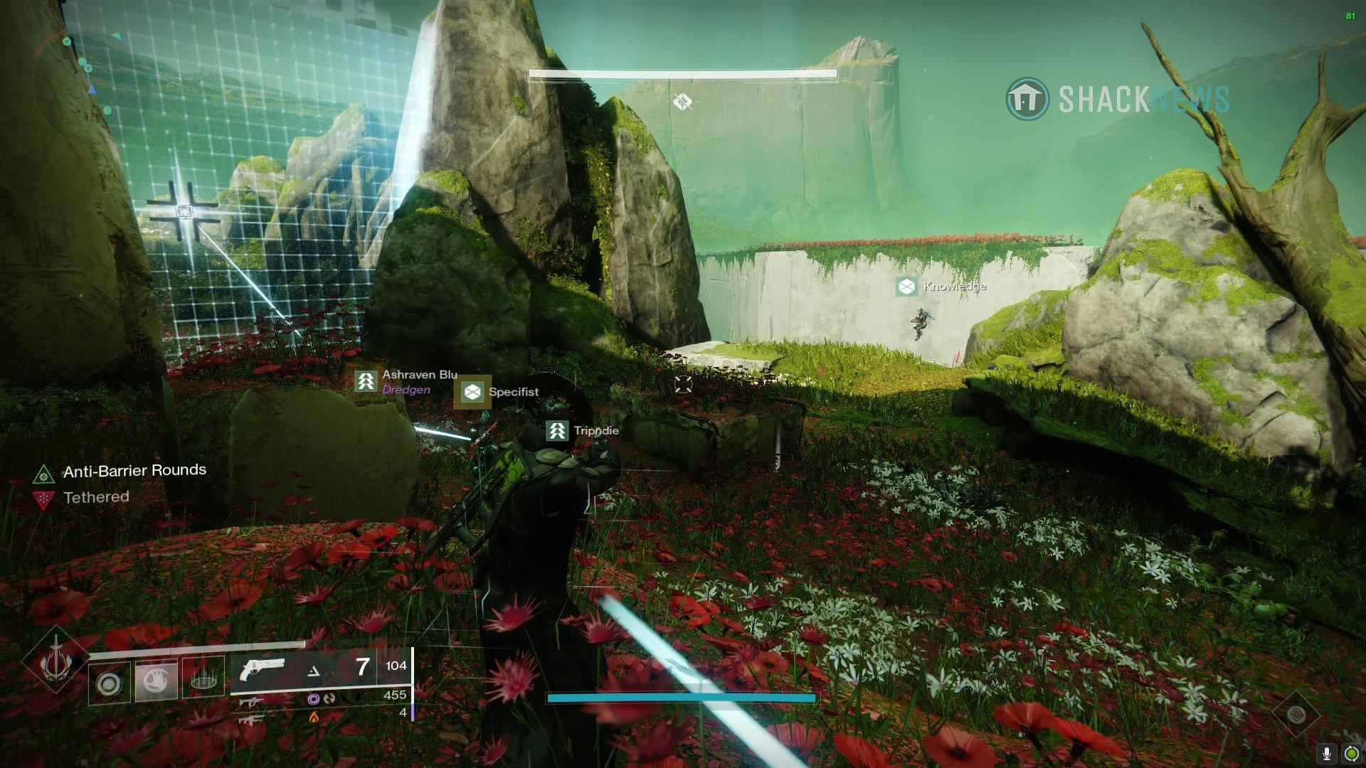 Garden of Salvation raid Vex barrier