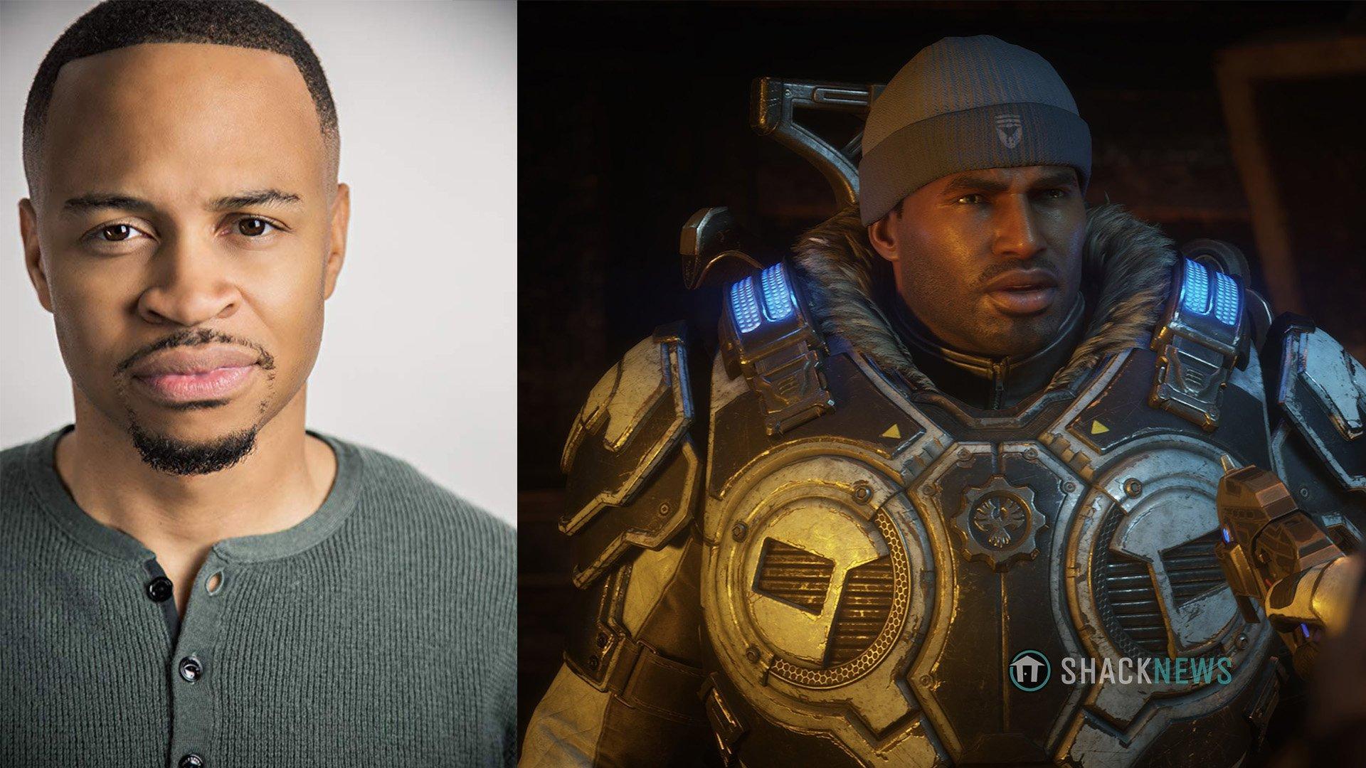 Gears 5 Del Walker voice actor