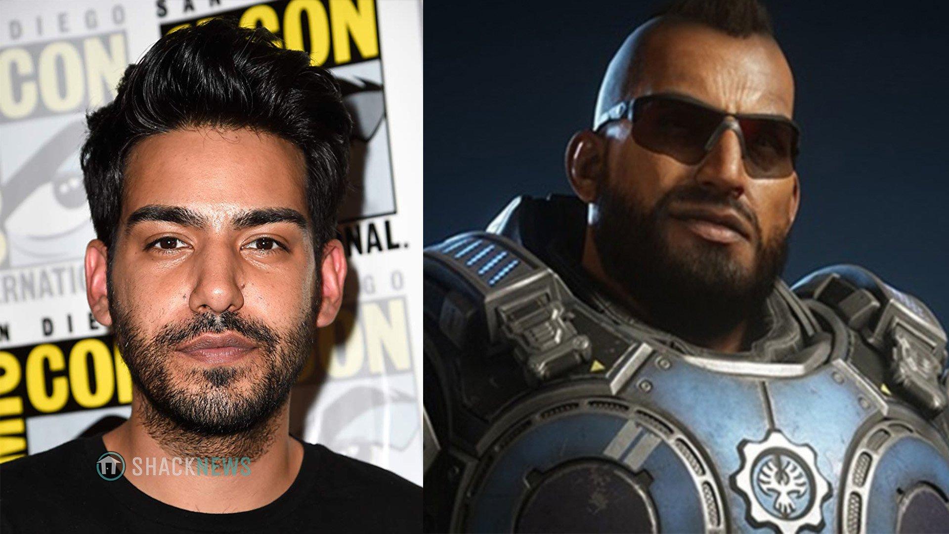 Gears 5 Fahz Chutani voice actor