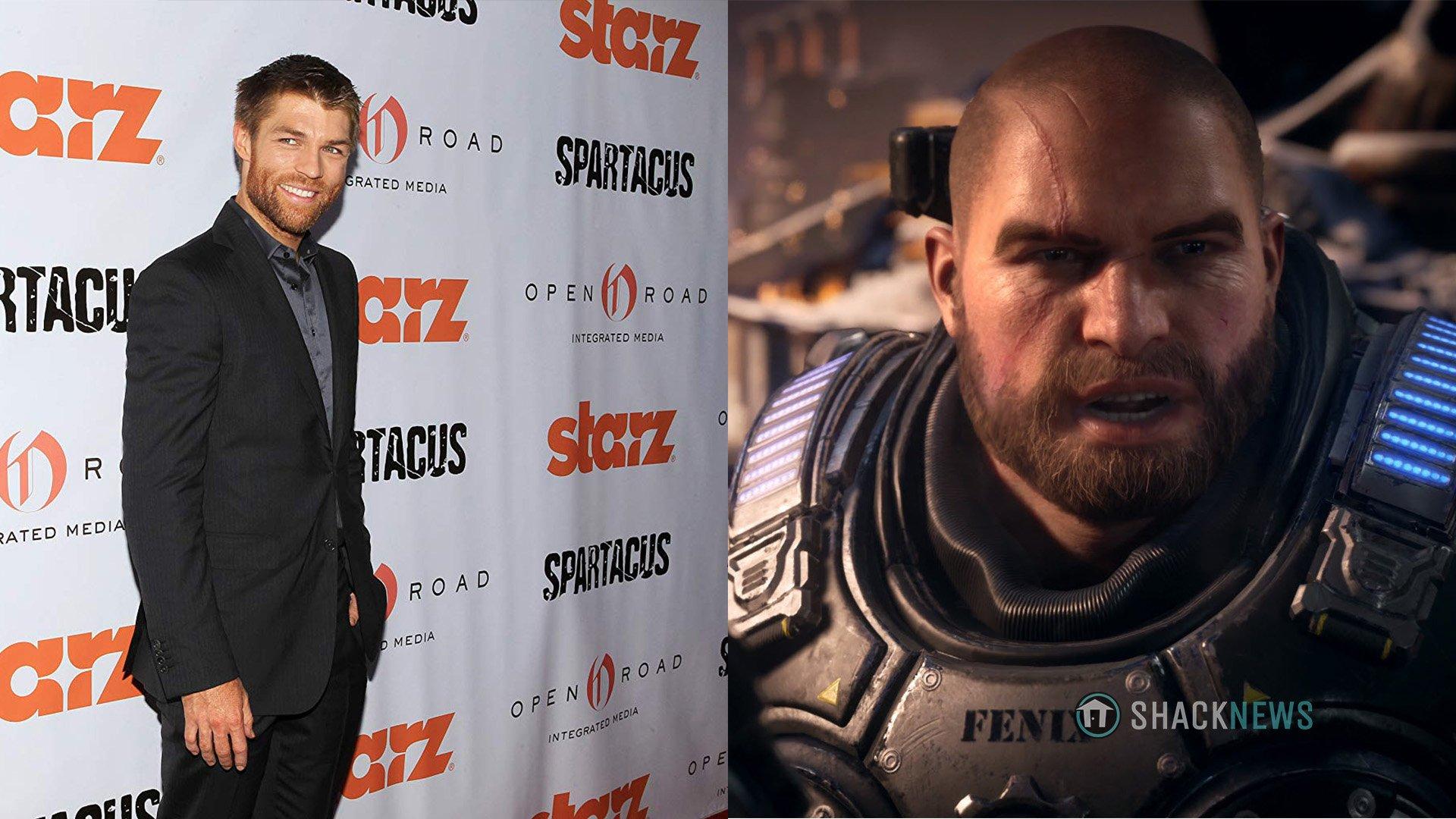 Gears 5 - J.D. Fenix voice actor