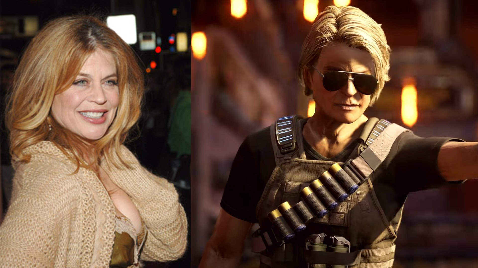 Gears 5 Sarah Connor voice actor