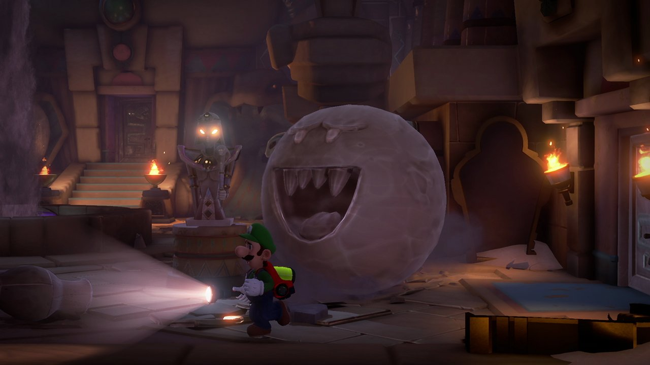 Luigi's Mansion 3 - Boo sand ghost