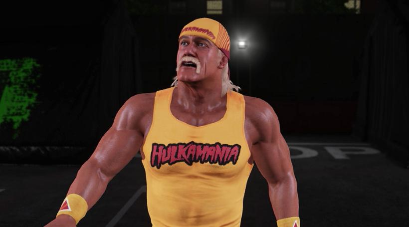 Hulk Hogan WWE 2K14 character model.