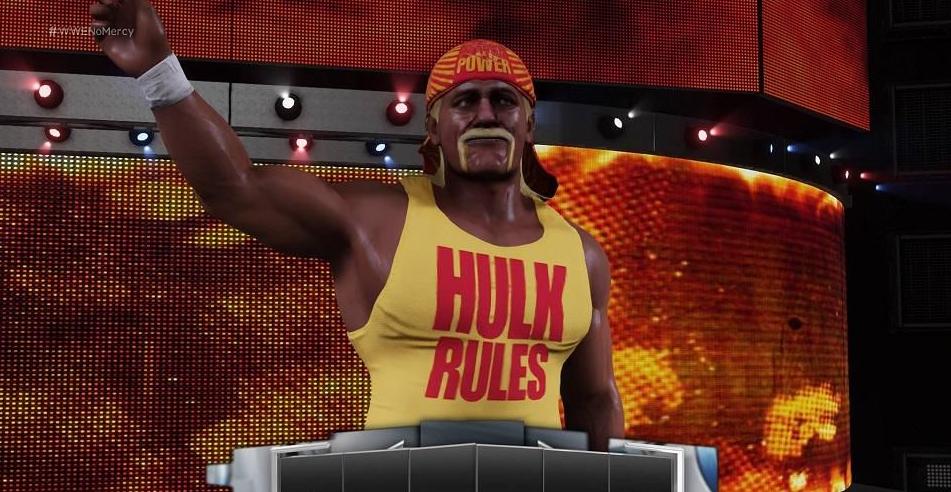 Hulk Hogan's WWE 2K20 character model.