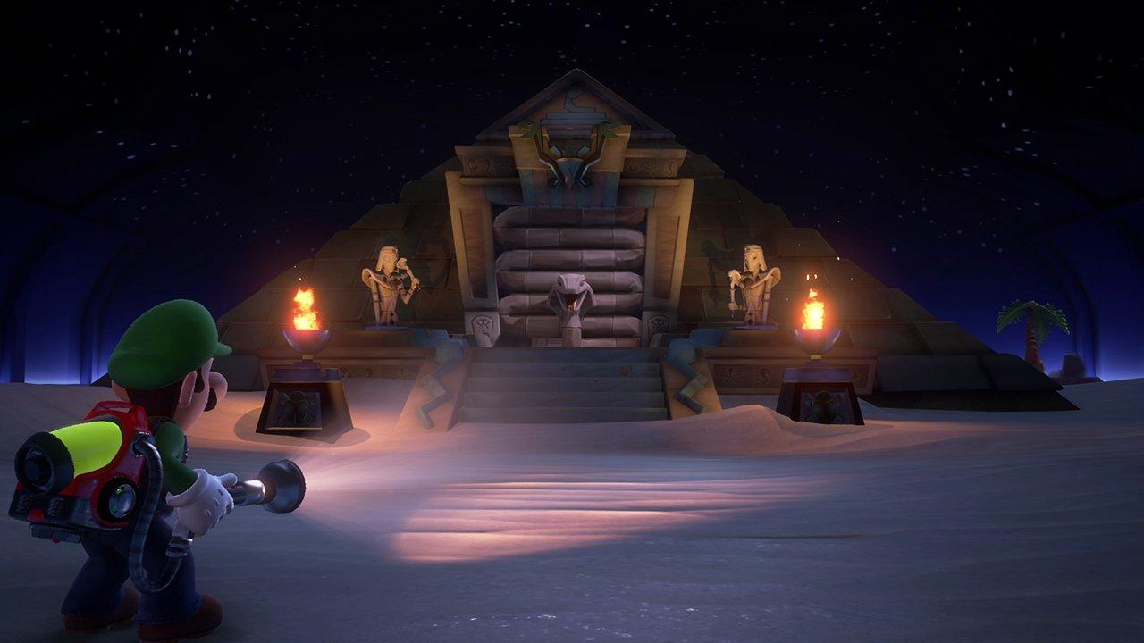 Luigi's Mansion 3 review - sandy temples