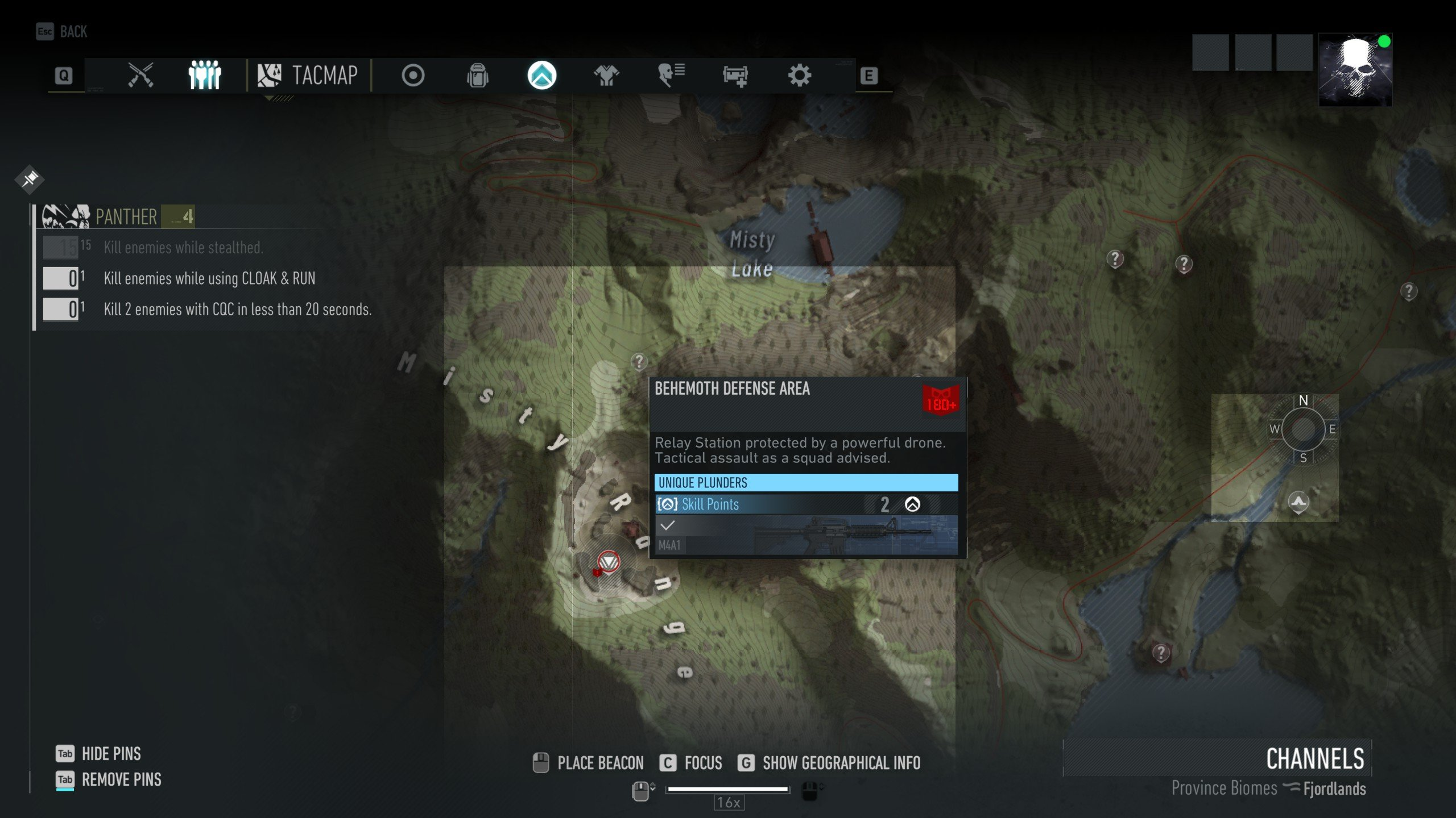 M4A1 Blueprint Location Ghost Recon Breakpoint