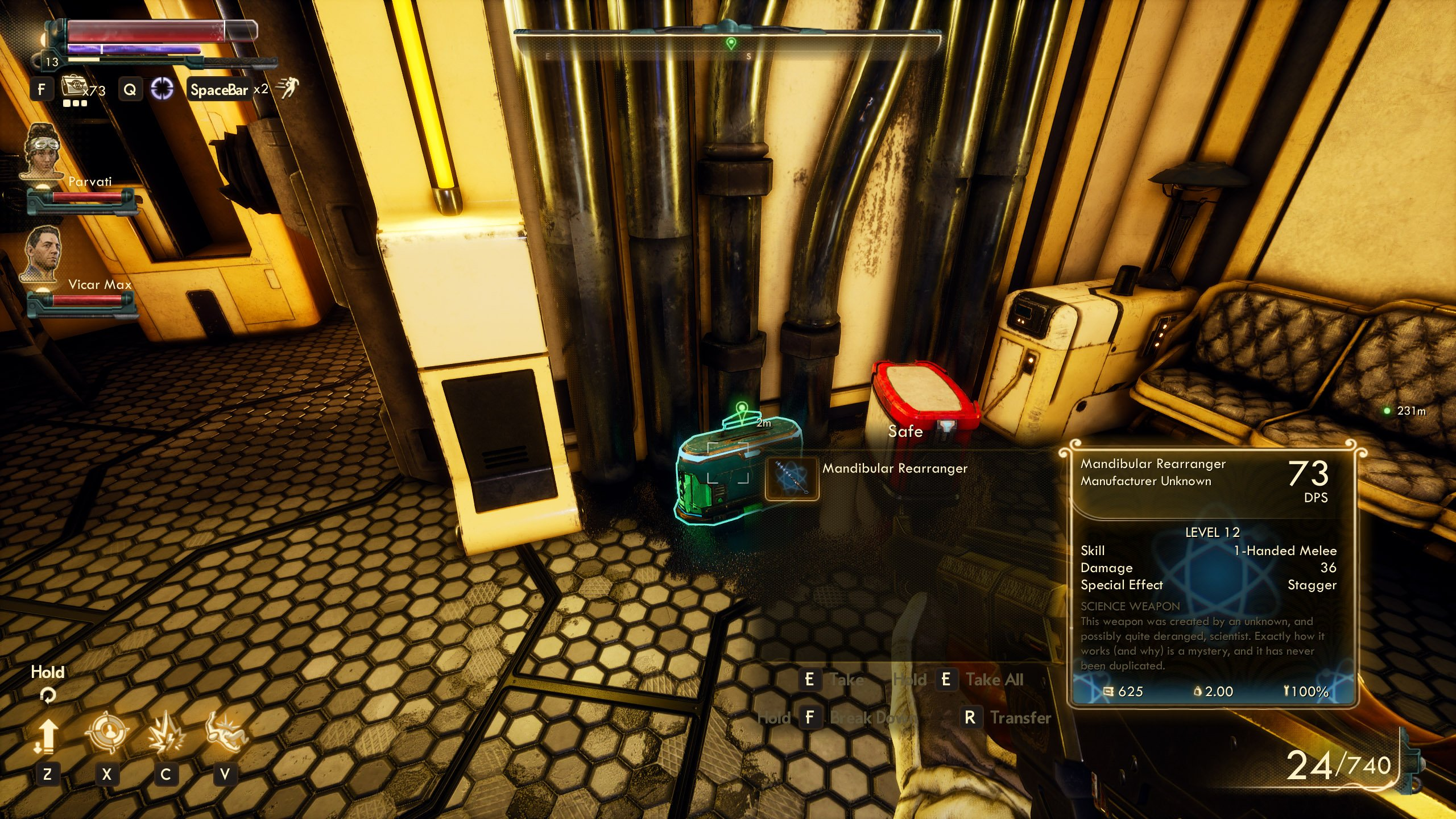 Science Weapons The Outer Worlds