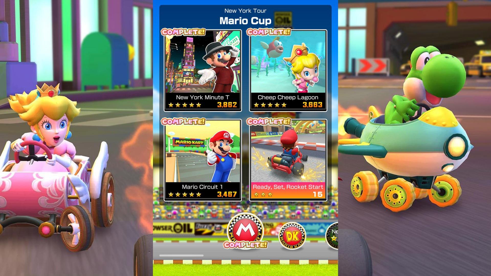 How to unlock challenges in Mario Kart Tour