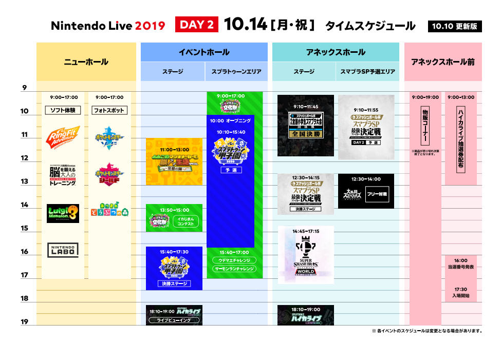 Nintendo Live 2019 - Day 2