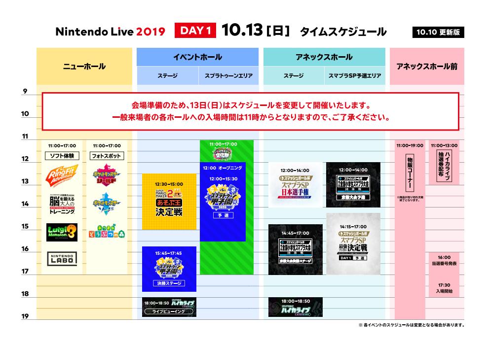 Nintendo Live 2019 - day 1