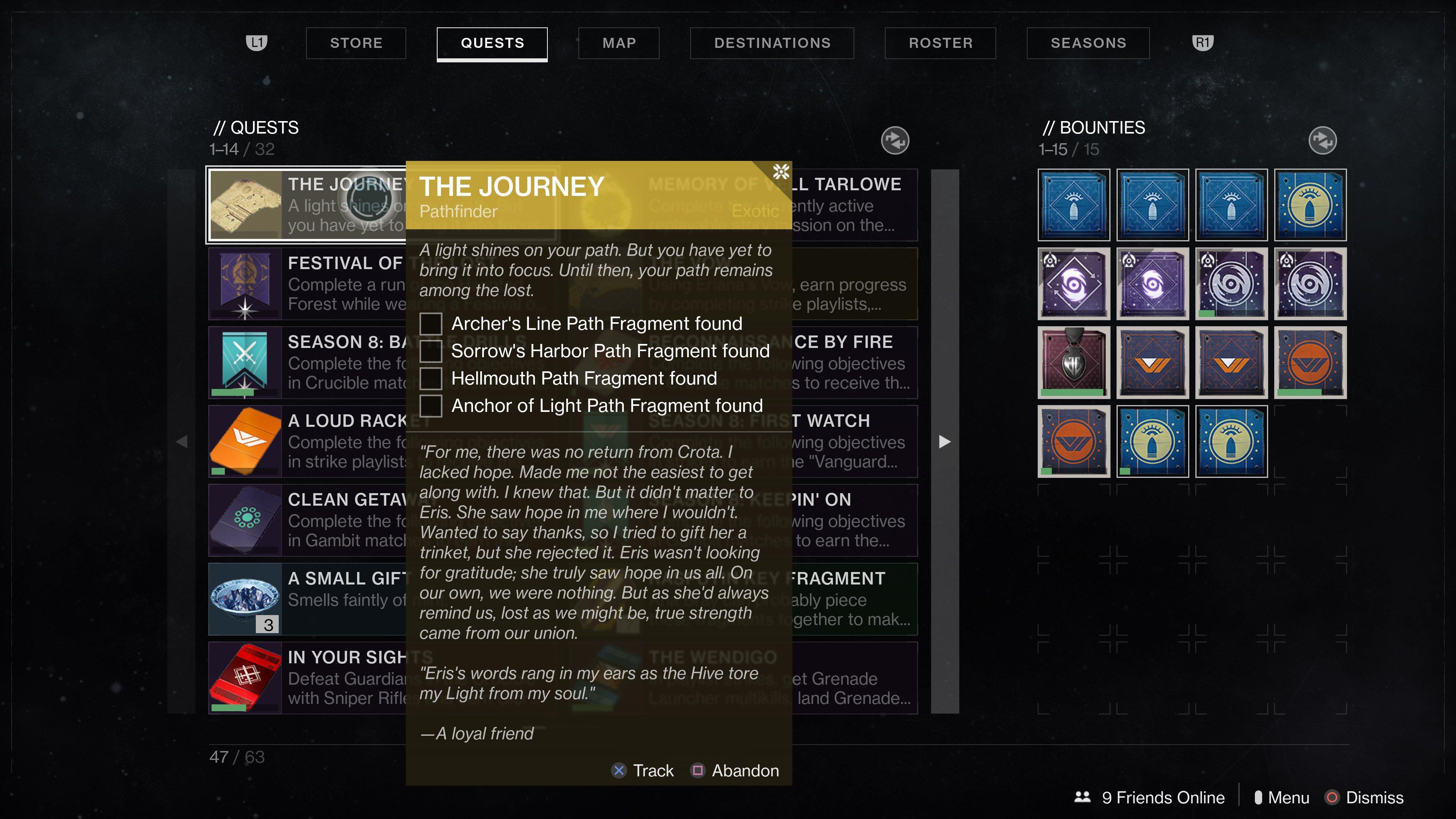 Pathfinder Quest Step Destiny 2