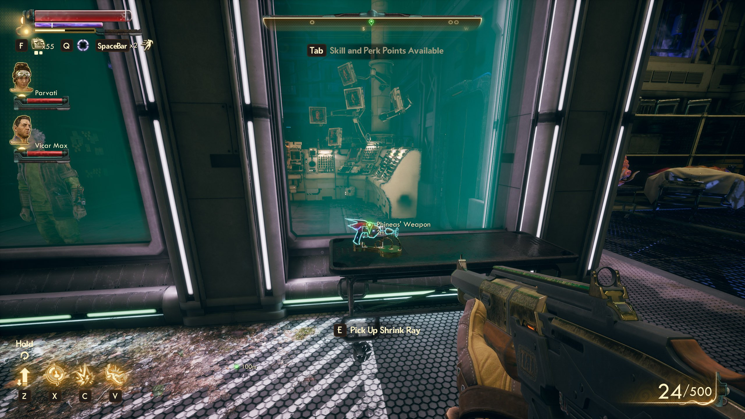 Weapons from the Void The Outer Worlds