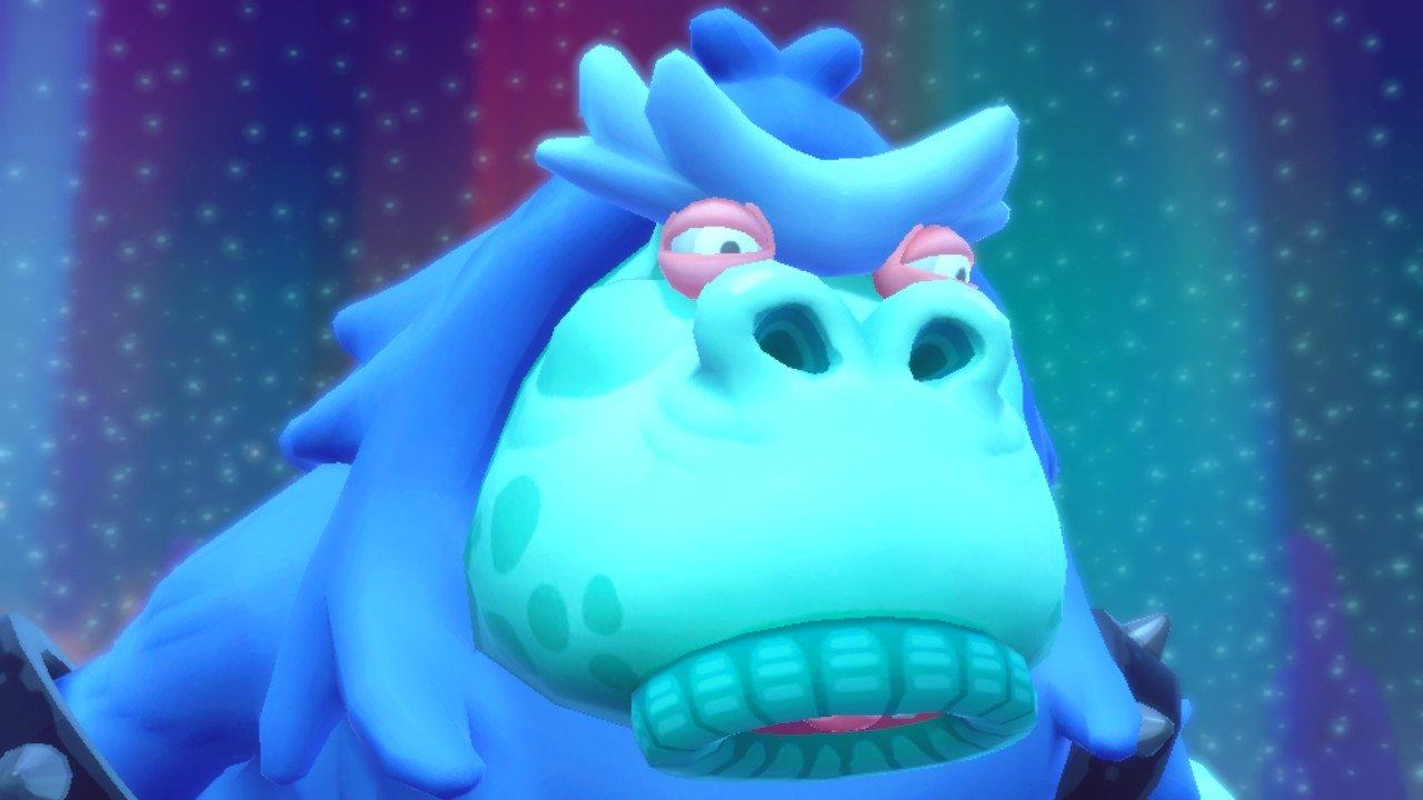 The boss battles in Super Monkey Ball: Banana Blitz HD are not so fun.