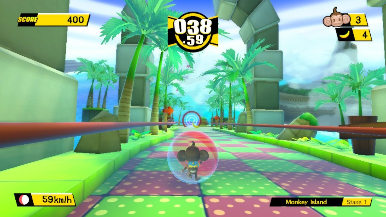 The graphics are pretty solid in this HD remake of Banana Blitz.