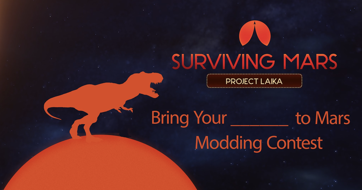 Players can create new animals for the Surviving Mars Project Laika expansion.