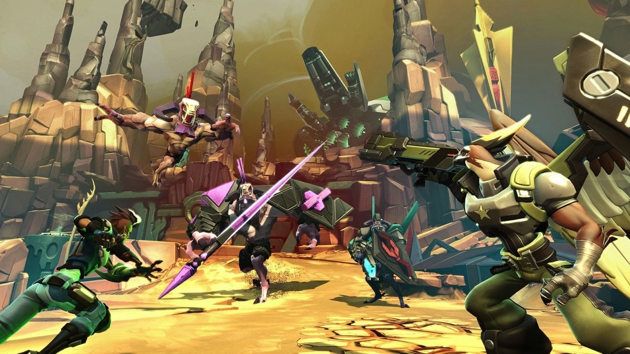 Battleborn had a lot of Gearbox style and comedy that made it distinct, but even going free-to-play hasn't been enough to keep it off the chopping block.
