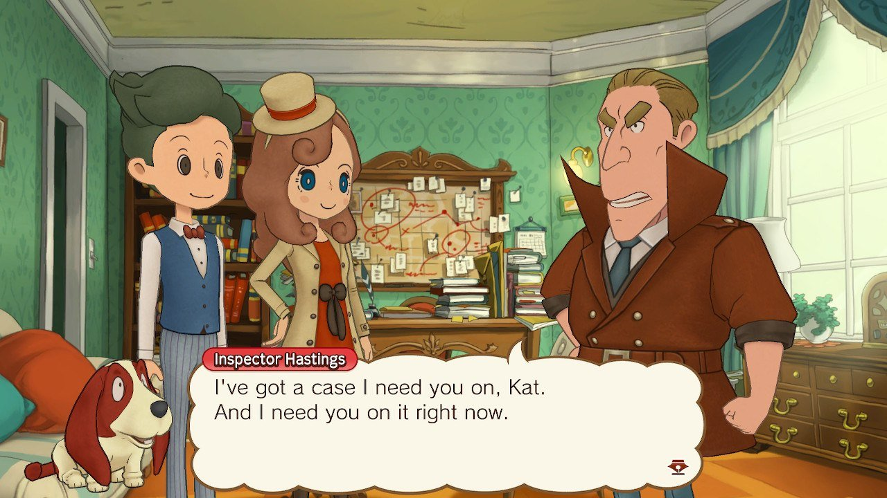 Katrielle may not be the great Hershel Layton, but as a strong women who aspires to that grand reputation, she does quite well in being her own solid character too.