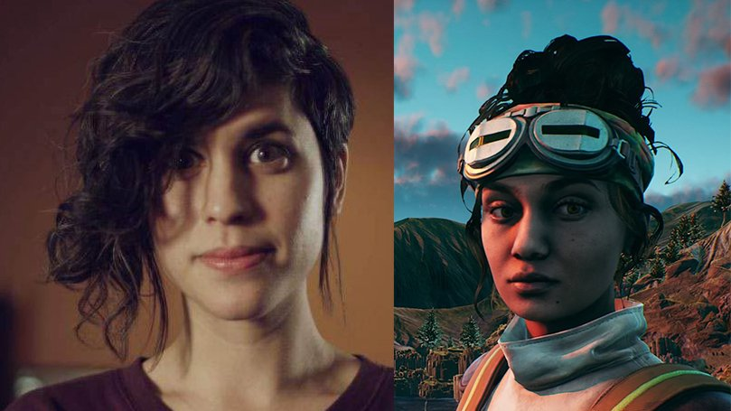 Ashly Burch Parvati Holcomb The Outer Worlds