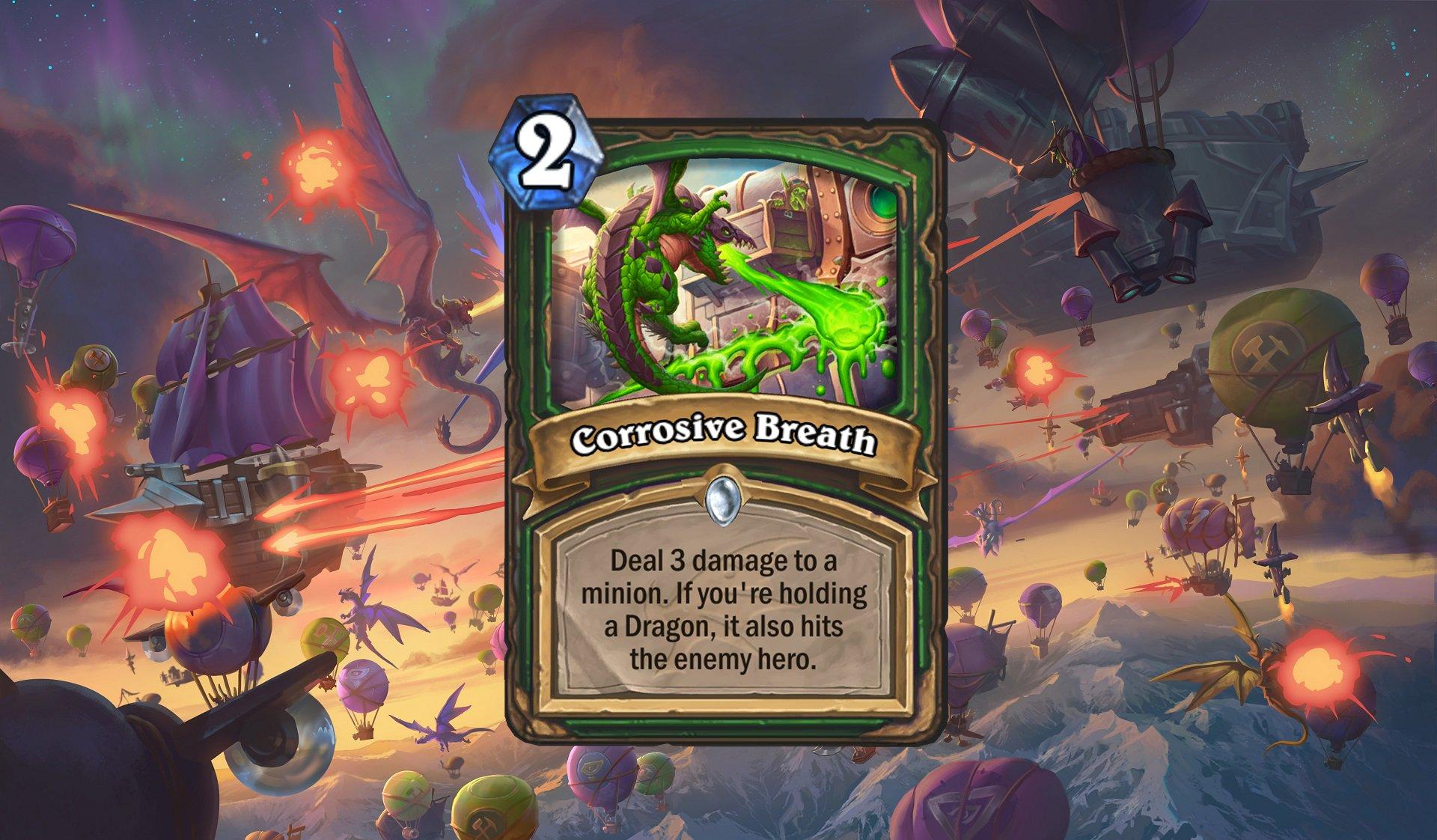 Hearthstone - Corrosive Breath