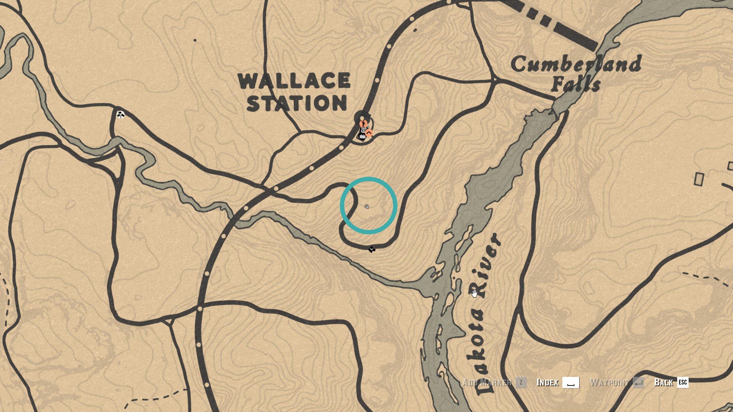 Dakota River Bend treasure map 3 - RDO