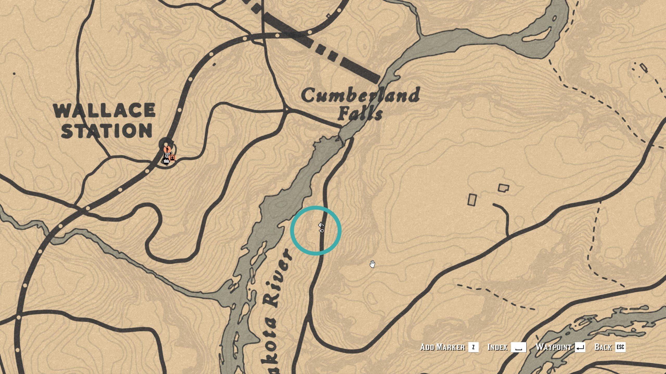Dakota River Bend treasure map 4 - RDO
