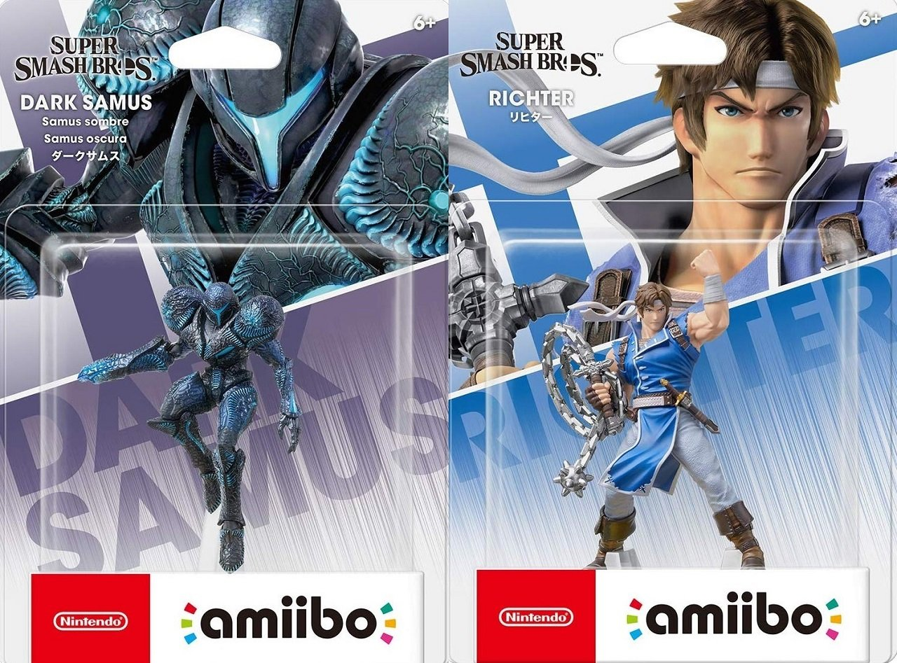 The Dark Samus amiibo is looking absolutely stellar, but Richter is nothing to sneeze at either. [Image by Wario64]