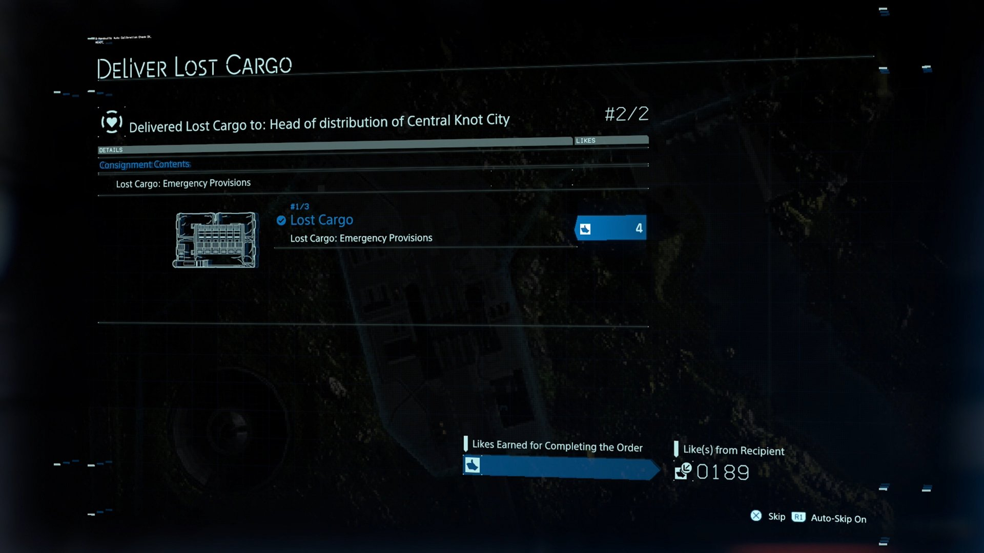 What is Lost cargo
