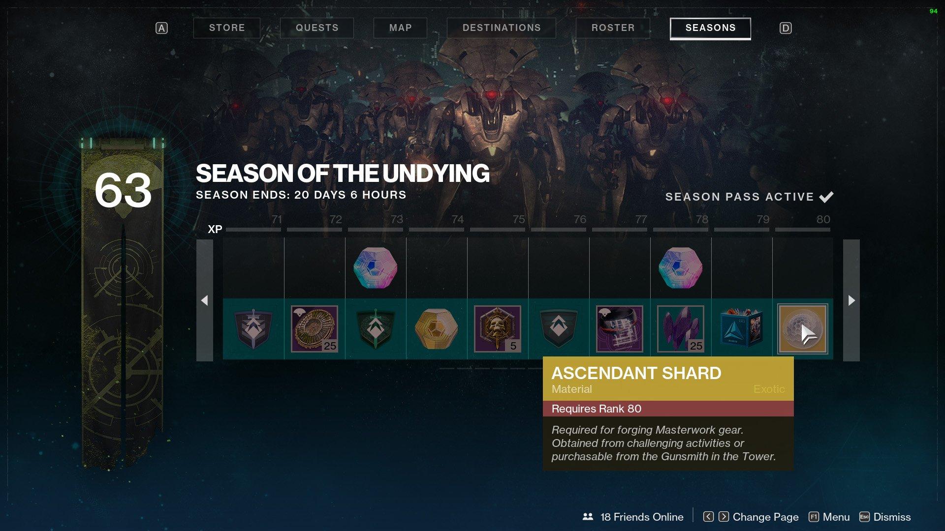 destiny 2 ascendant shard season pass