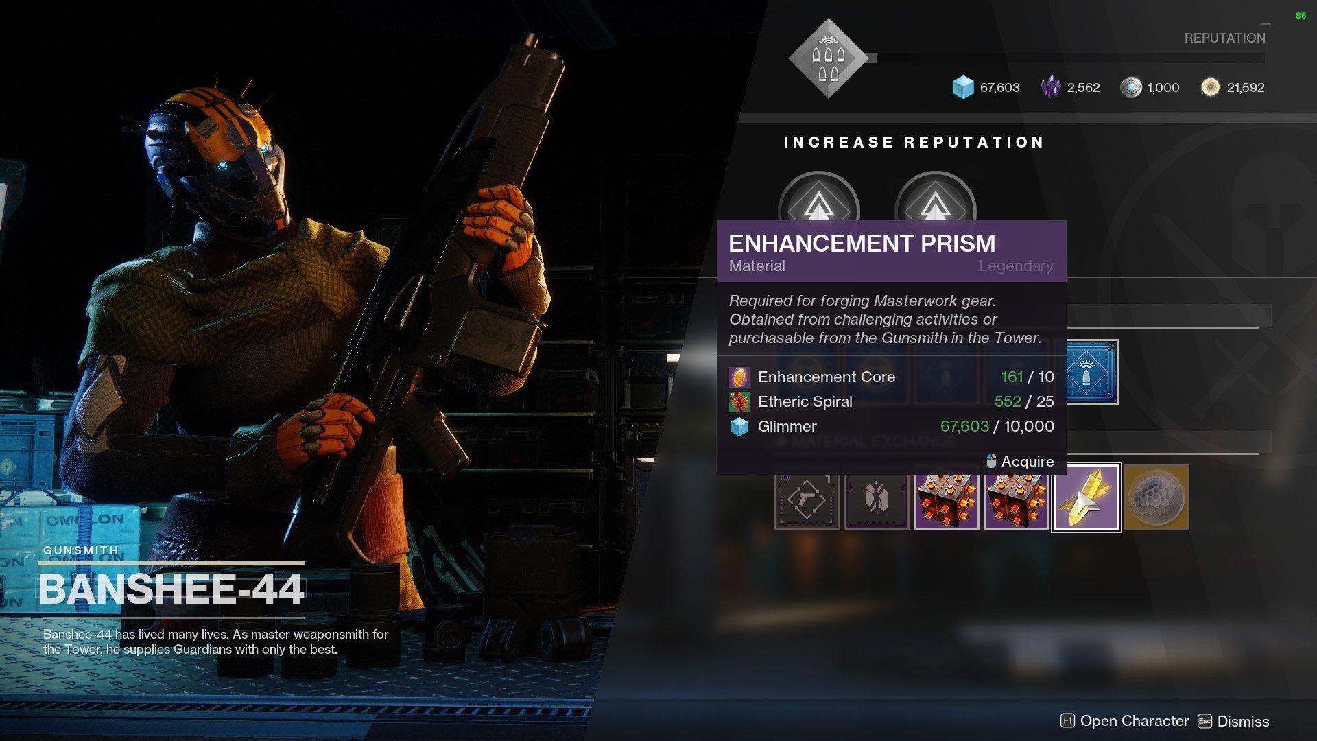 destiny 2 enhancement prisms