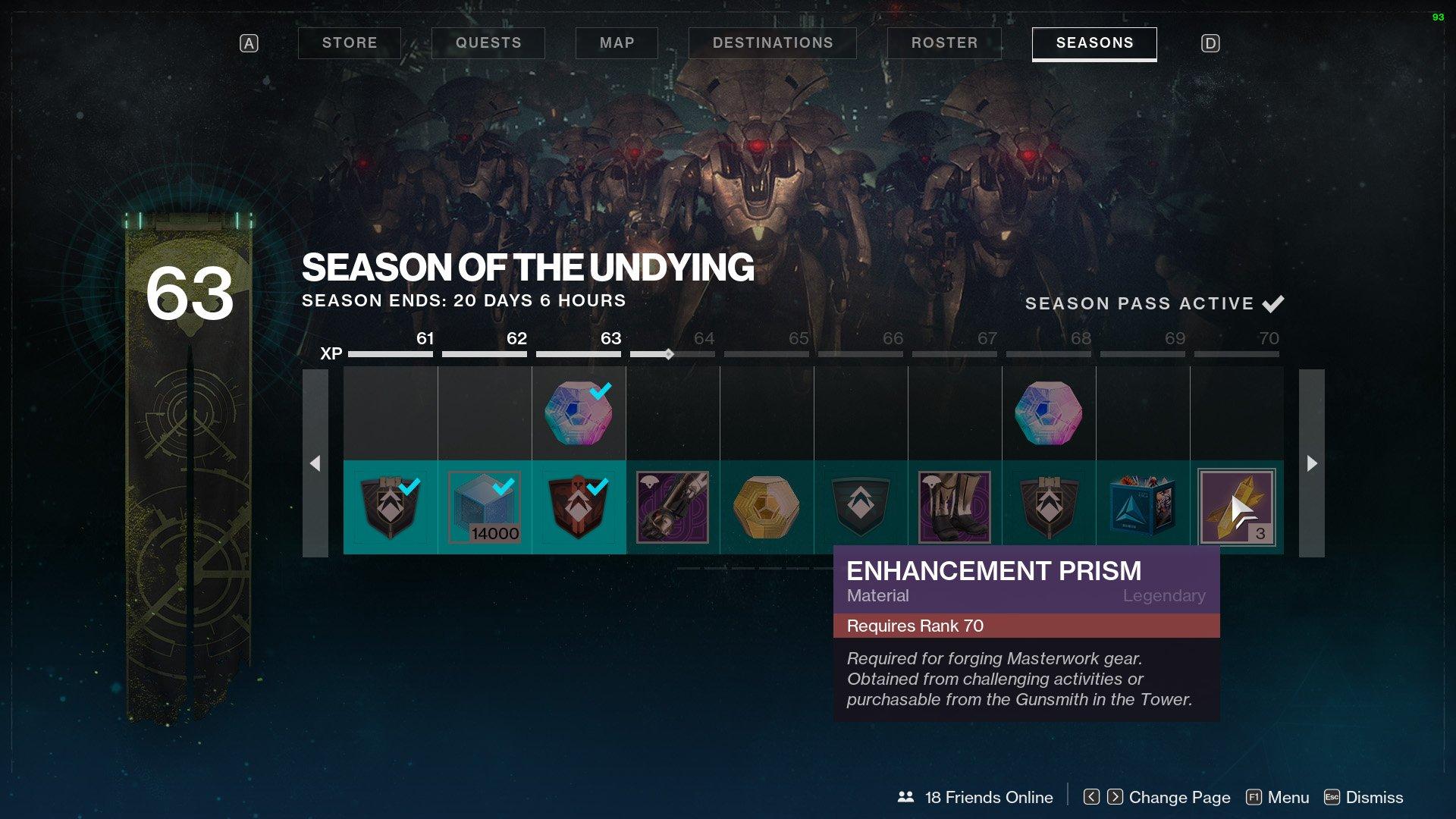 get more enhancement prisms destiny 2