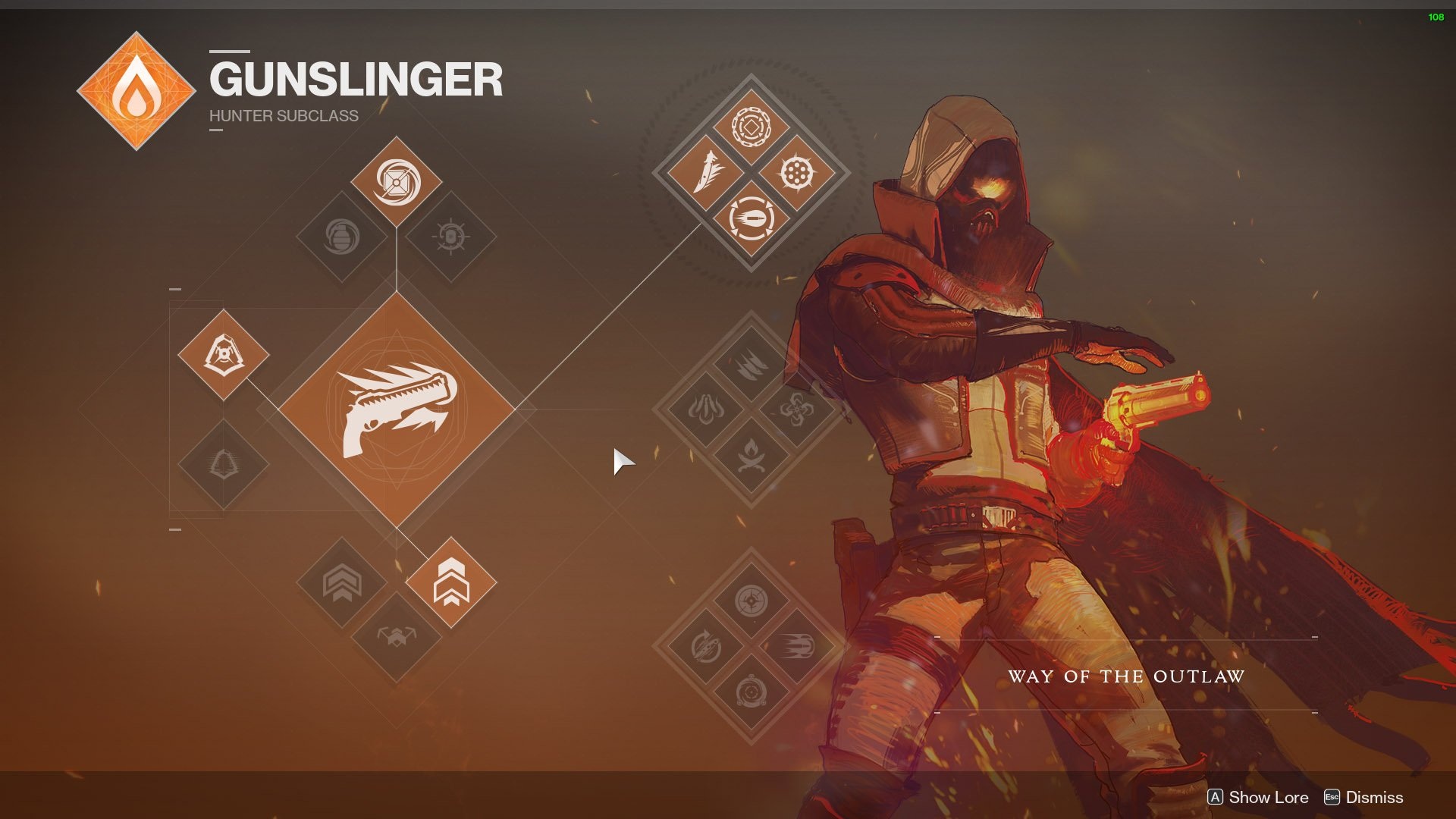 destiny 2 hunter gunslinger