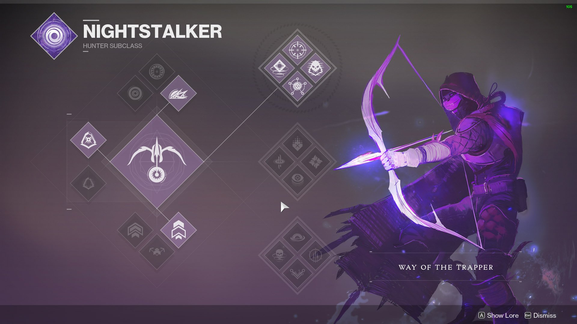 destiny 2 hunter nightstalker