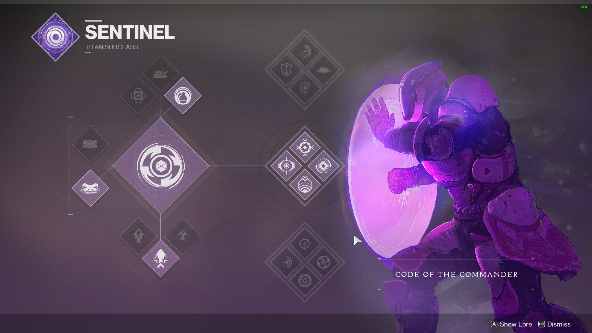 destiny 2 titan sentinel
