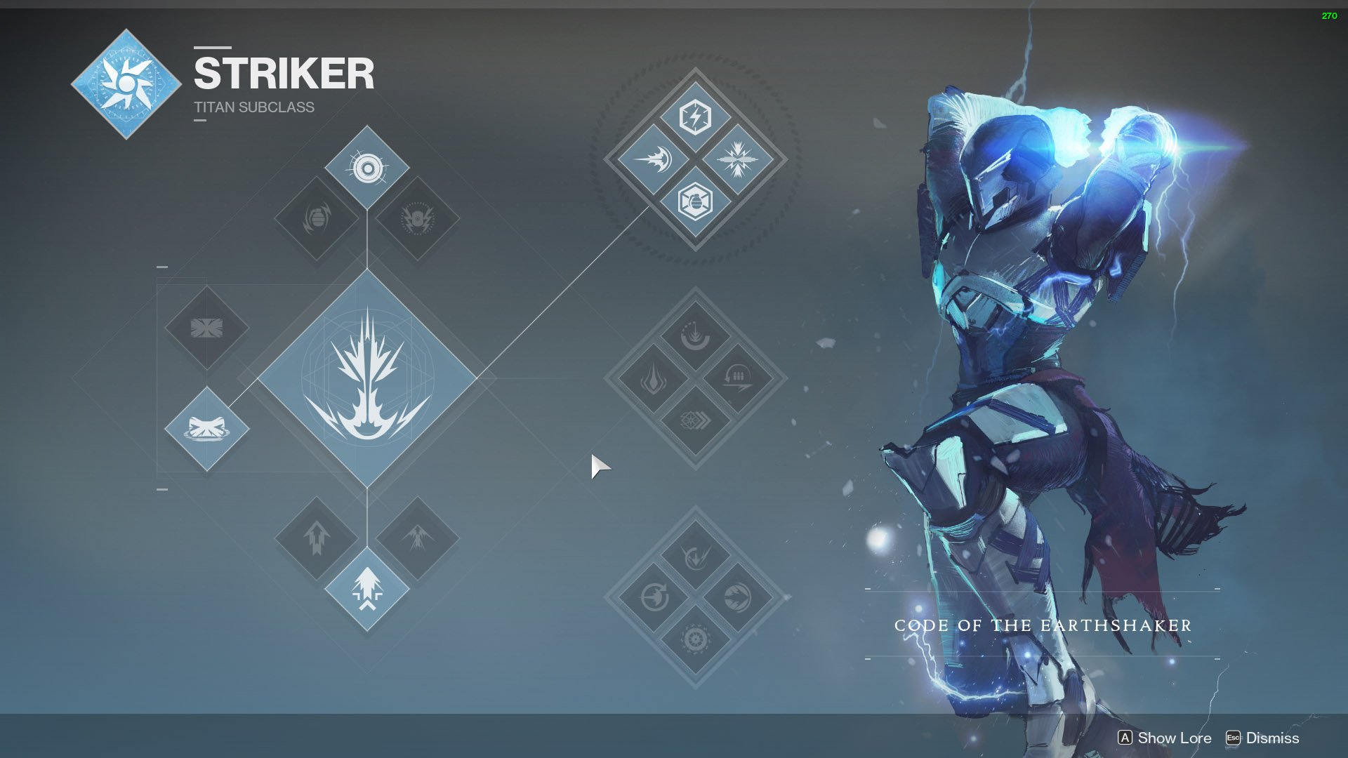 destiny 2 titan striker