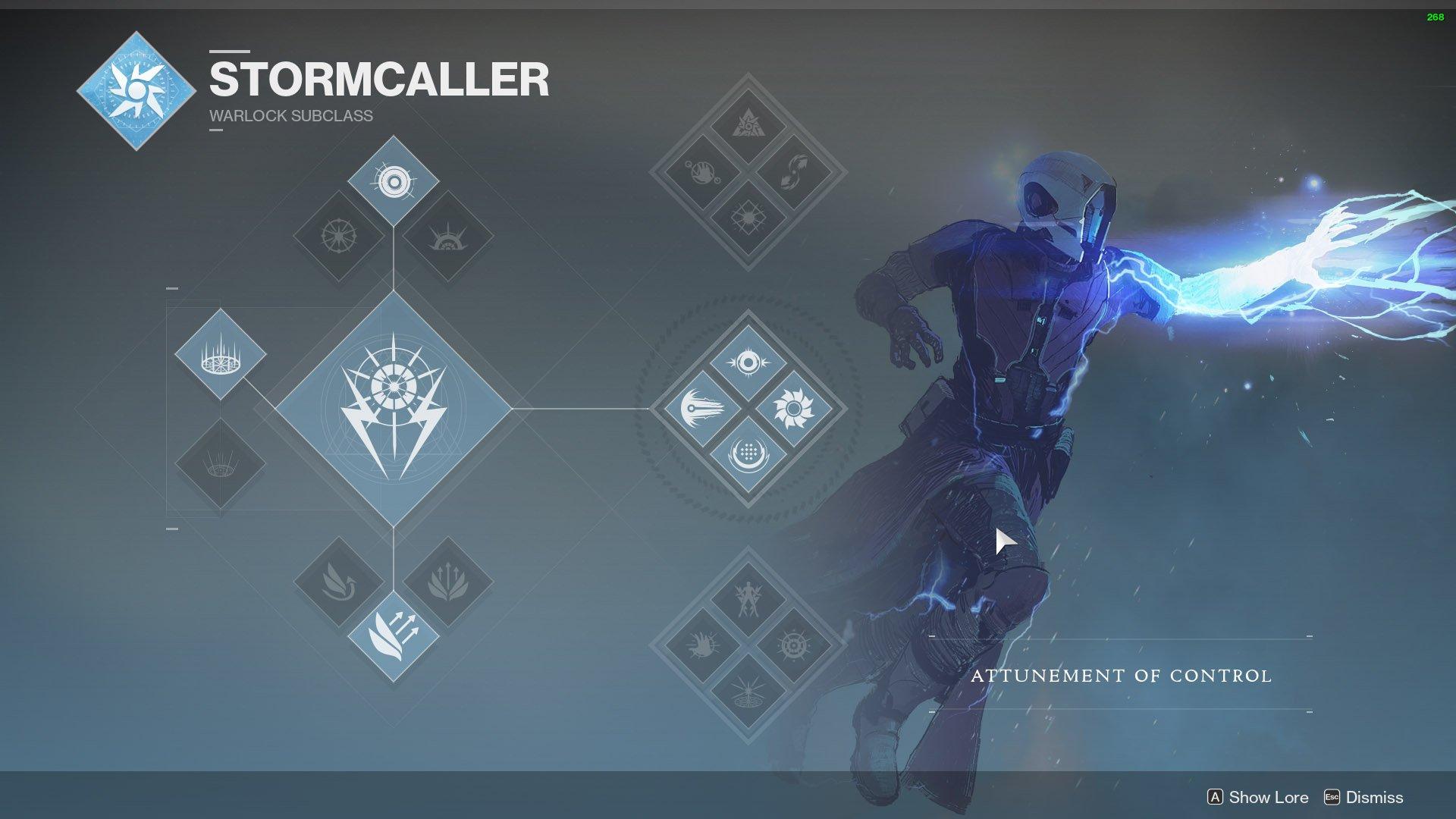 destiny 2 warlock stormcaller